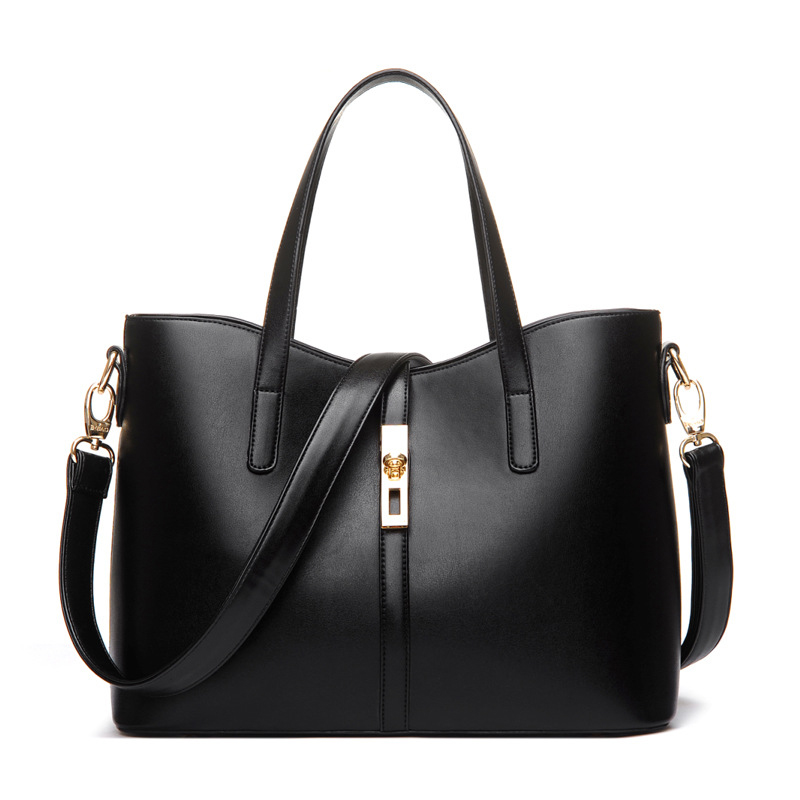 Fashion brand women PU leather Classic handbags satchel bags cross body shoulder bags ladies large tote bag classic black leather tote handbags embossed pu leather women bags shoulder handbags elegant