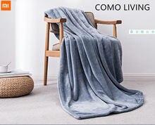 Nova youpin como vivendo quente veludo antibacteriano cobertor anti-estático para folhas e escritório ou casa 3 cores
