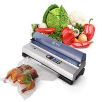 DZ 320D Full automation small commercial vacuum food sealer vacuum packaging machine family expenses vacuum machine 220V/50HZ