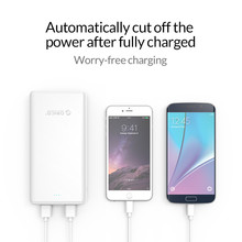 ORICO 3 USB Power Bank External Battery 20000mAh Portable Mobile Backup Bank Charger