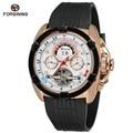 Top Brand Luxury Mens Sport Watches Rubber WatchBand Tourbillon Mechanical Automatic Watch Men relogio masculino