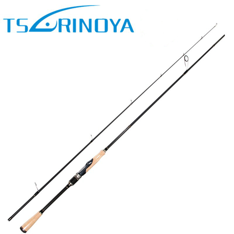 TSURINOYA PROFLEX II 2.01m 2.13m Spinning Fishing Rod 2 Section ML/M Power Carbon Fiber Lure Rod Canne Da Pesca Fishing Pole tsurinoya mystery ii spinning casting fishing rod 1 98m 2 1m m f power carbon fishing pole vara de pesca carp fishing lure rod