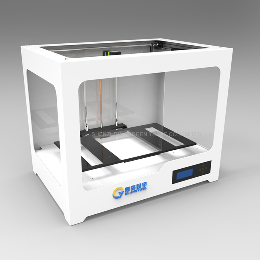 110V/220V DIY 3D printer three dimensional USB port LAN port Pla ABS 3D printing machine