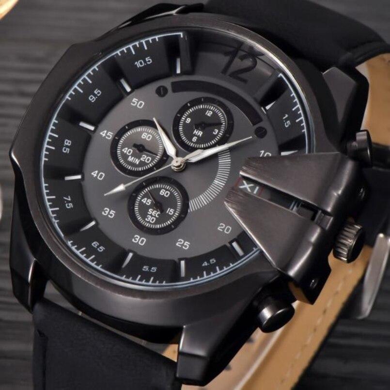 Excellent Quality XINEW Quartz Watch Men Luxury Wristwatch Male Clock Wrist Watch Hodinky Quartz Watch Relogio