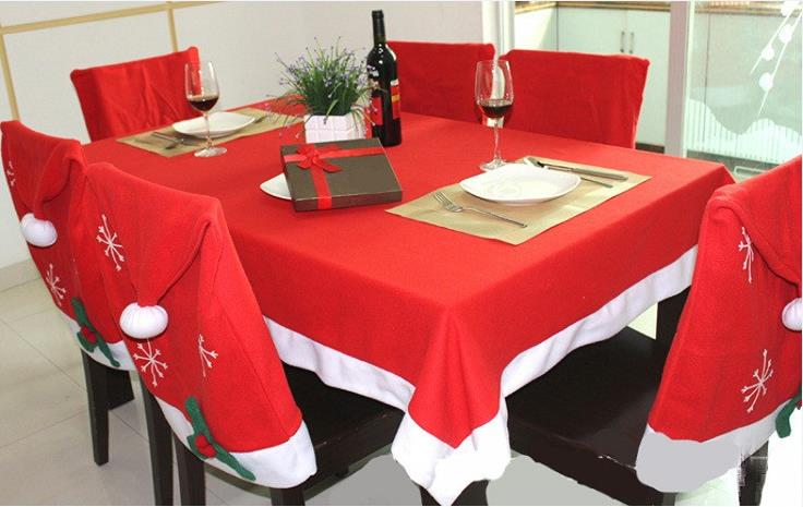 Christmas Kitchen Table Chair Covers Set Cheap Christmas