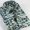 Free shipping 2017 new winter warm cashmere shirt men's shirts men's universal camouflage warm long sleeve shirt
