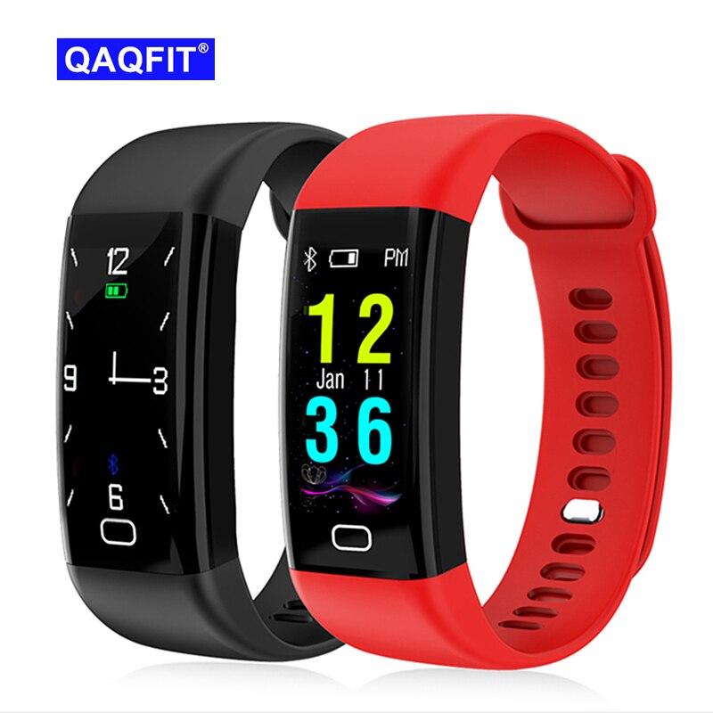 2018 NEW F07 Bluetooth Smart Band OLED Color screen Bracelet IP68 Waterproof Swim Heart Rate blood pressure monitor Smartband