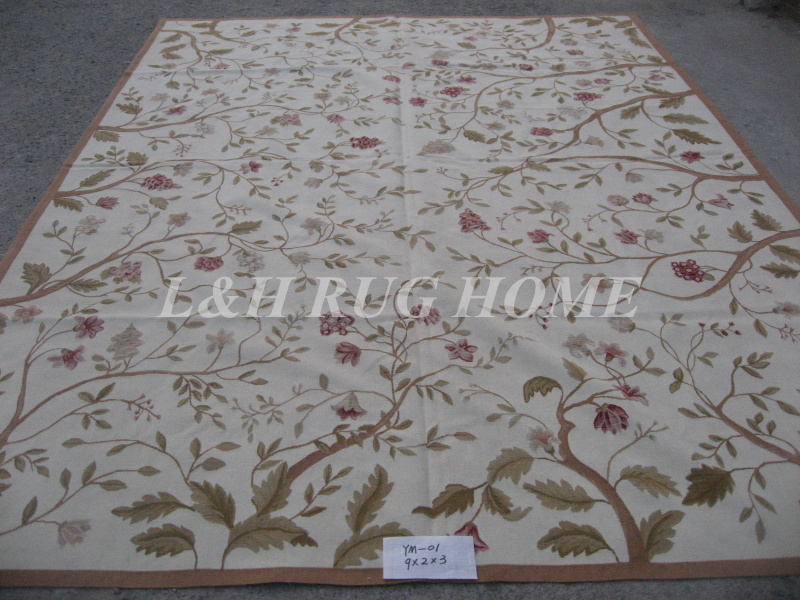 Free Shipping 9u0027x12u0027 Aubusson Woolen Rugs French Aubusson Carpet Hand Woven  Area Carpet