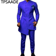 4 Colours 2020 New Men Wedding Suits with Pants 2 Pieces Suits Men Tux