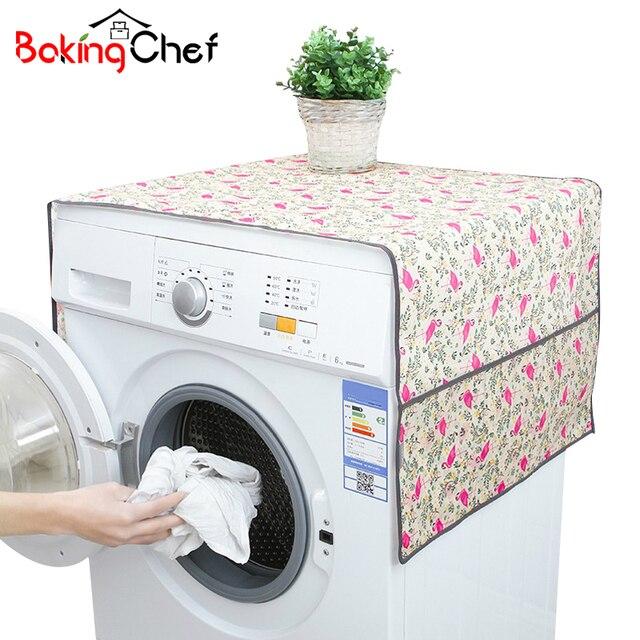 BAKINGCHEF Famiglia Rivestimenti per lavatrice Frigorifero di Casa Pulizia Imper
