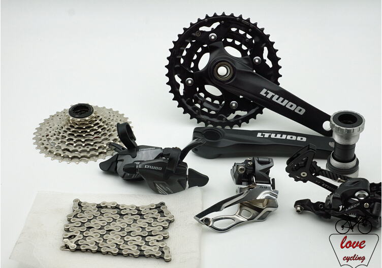 Made In China bicycles group 3X10 speed 30 speed bicycle parts  mtb group set mountainbike groupset картина made in china 1 42 x 30 a024