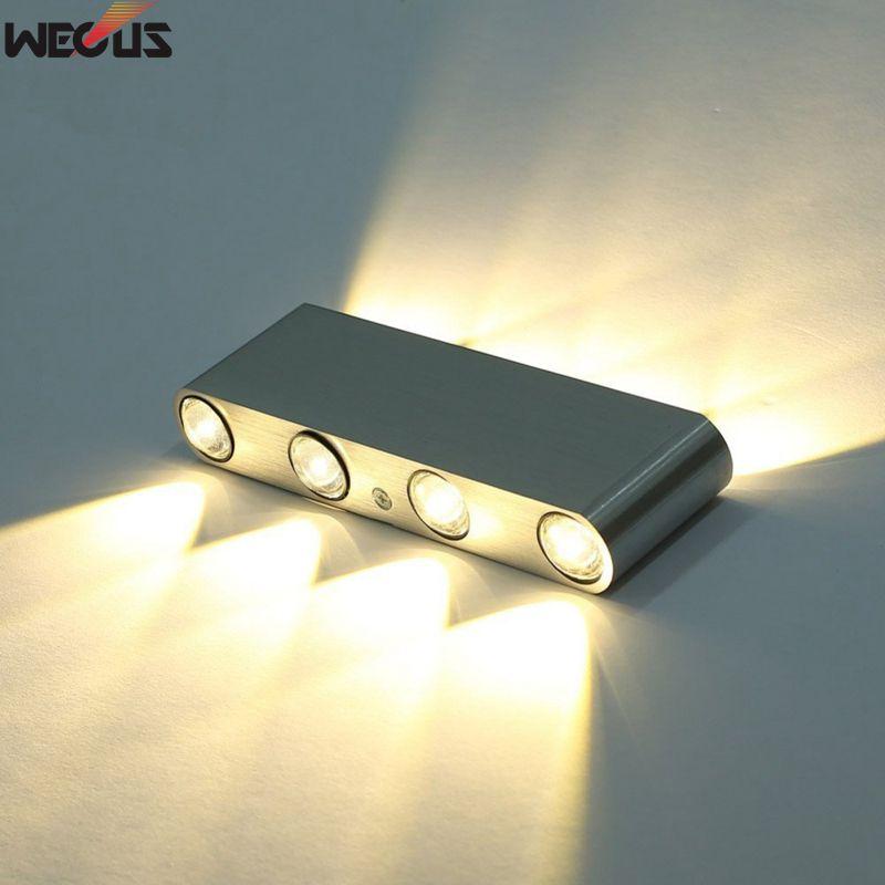 Lâmpadas de Parede lâmpada de parede de alumínio, Material do Corpo : Alumínio