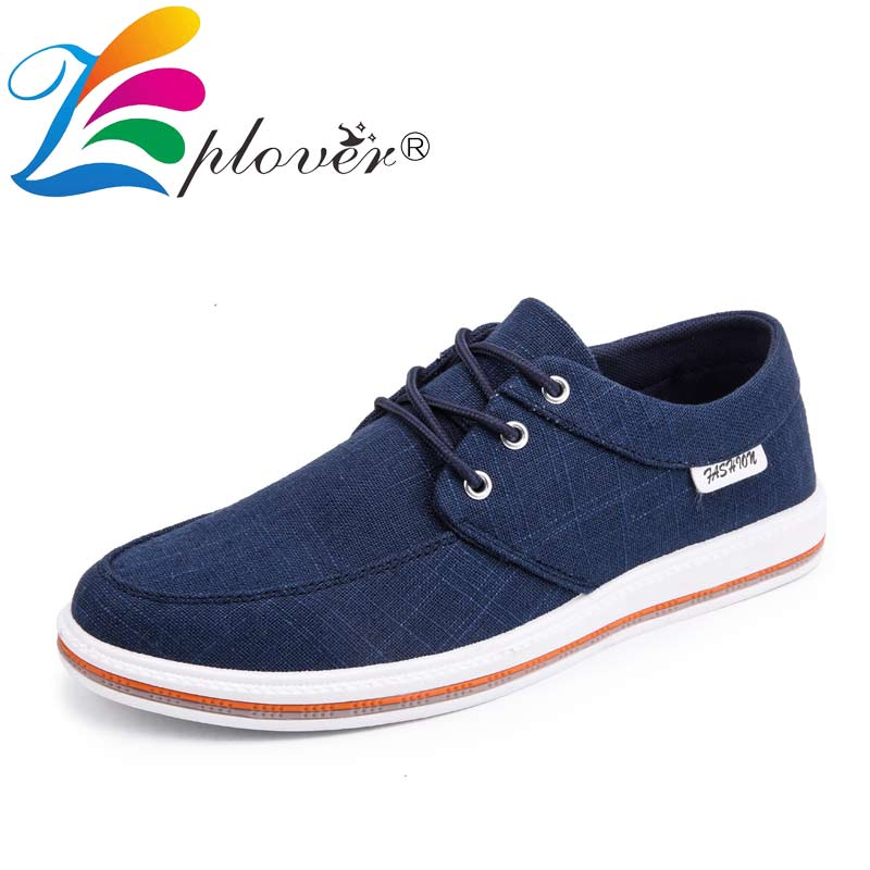 Promo Big Size 39-47 2019 Men's Shoes Casual Breathable Canvas Shoes For Men Sneakers Walking Moccasins Male Shoes sapato masculino