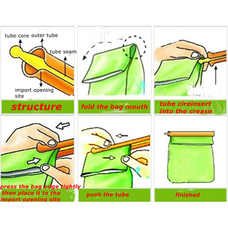 New 8pcs 4 Sizes Seal Stick Storage Chip Bag Fresh Food Snack Clip Grip Coffee For Kitchen Tools