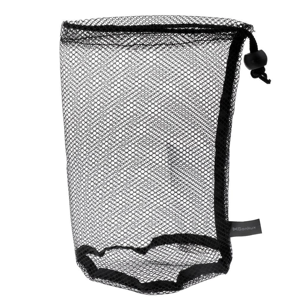 Durable Nylon Mesh Net Bag Pouch Golf Tennis Ball Carrying Holder 20 X 14 Cm