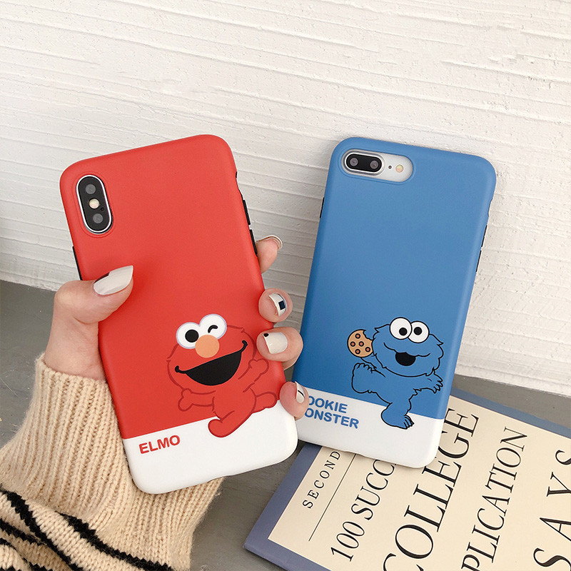 Cellphones & Telecommunications Nice Japan 3d Cute Sesame Street Toys Elmo Cookie Biscuits Cartoon Soft Phone Case For Iphone 6 S 7 8 7plus 8 Plus X Lovely Cover Suitable For Men And Women Of All Ages In All Seasons