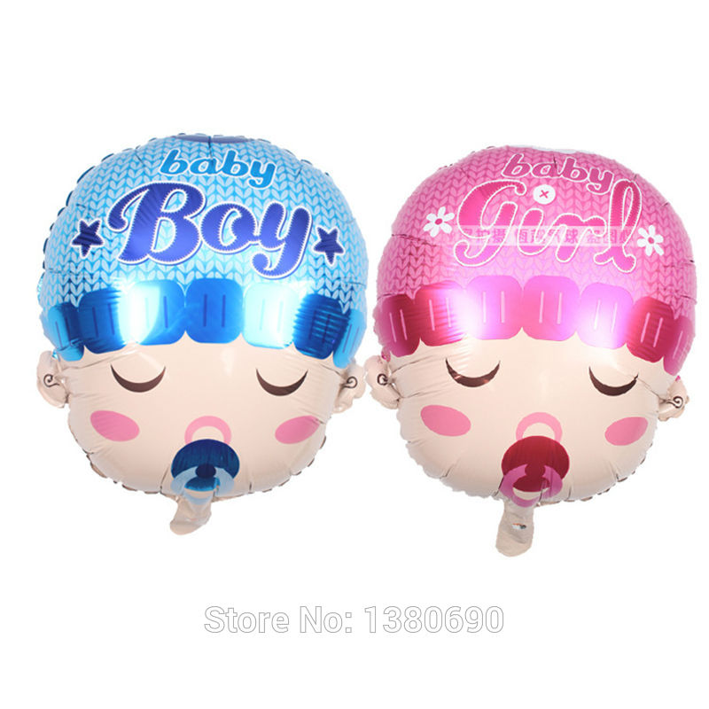 Party Decoration NEW 48*58cm Baby Foil Balloon Inflatable Toys Wholesale Birthda