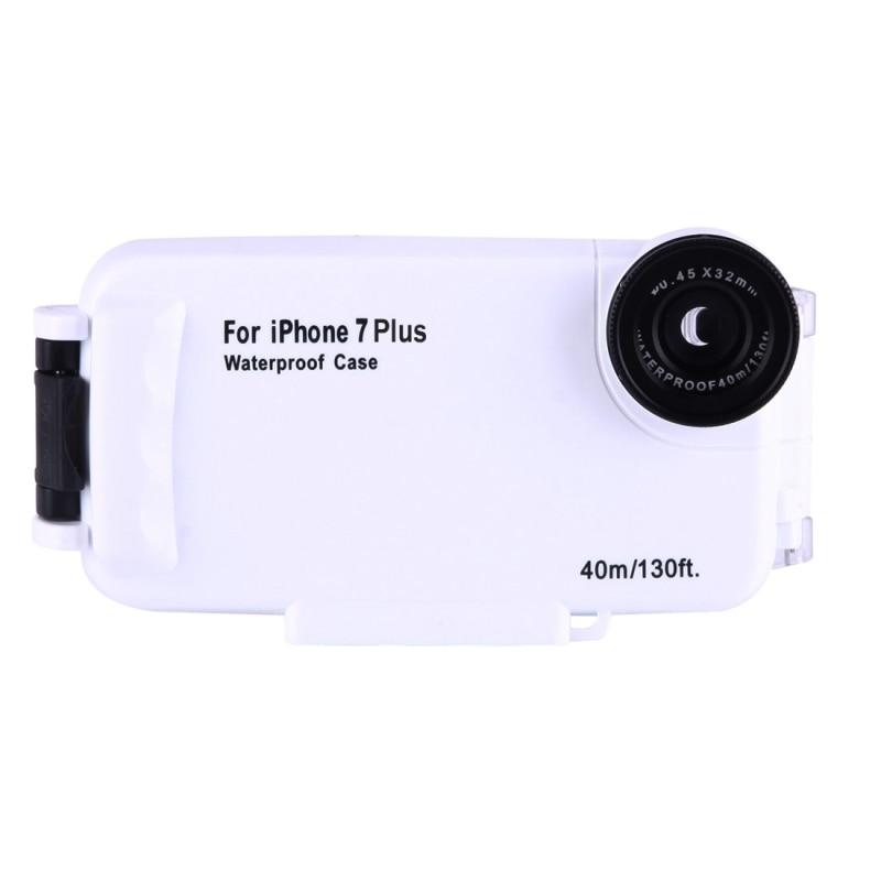 Voor iPhone 8 Plus Case Water Proof Onderwater 40m Waterdichte Duiken Behuizing PC + ABS Beschermhoes Voor iPhone 6s Plus 7 Coque - 2