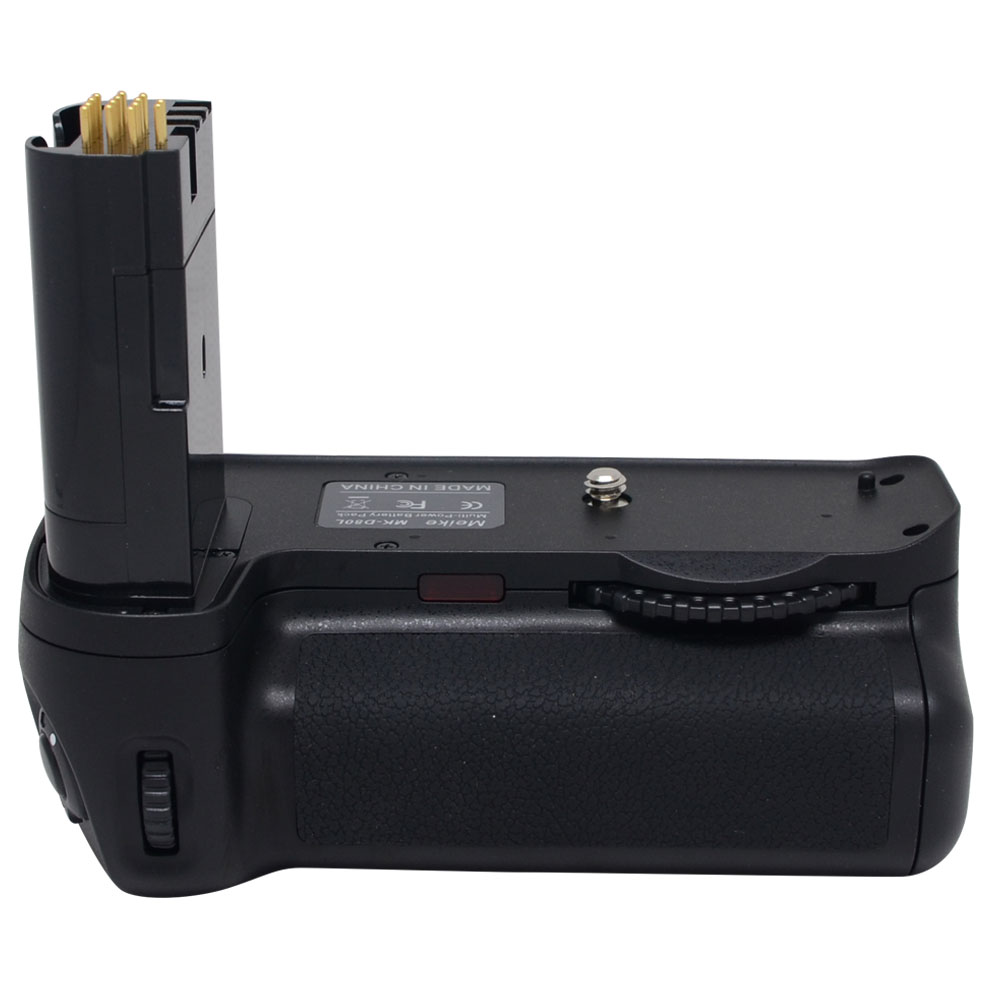 Battery Grips Mcoplus Bg-d80l Professional Lcd Timer Vertical Battery Grip For Nikon Dslr D80 D90 Camera As Meike Mk-80l