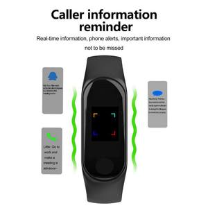 Image 5 - Цветной ЖК экран M3 смарт браслет монитор сердечного ритма кровяное давление фитнес трекер Смарт браслет для спорта PK mi Band 3