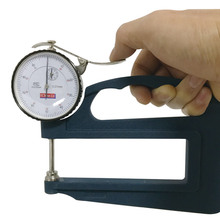 цена на Measuring Depth 120mm Mechanical Thickness Gauge Use in Rubber paper BC06