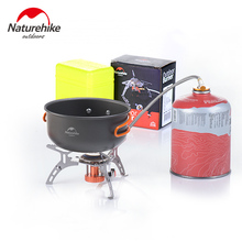 NatureHike factory sell Portable Outdoor Foldable Gas Stove Camping Hiking Picnic Stove Burner cooking gas stoves
