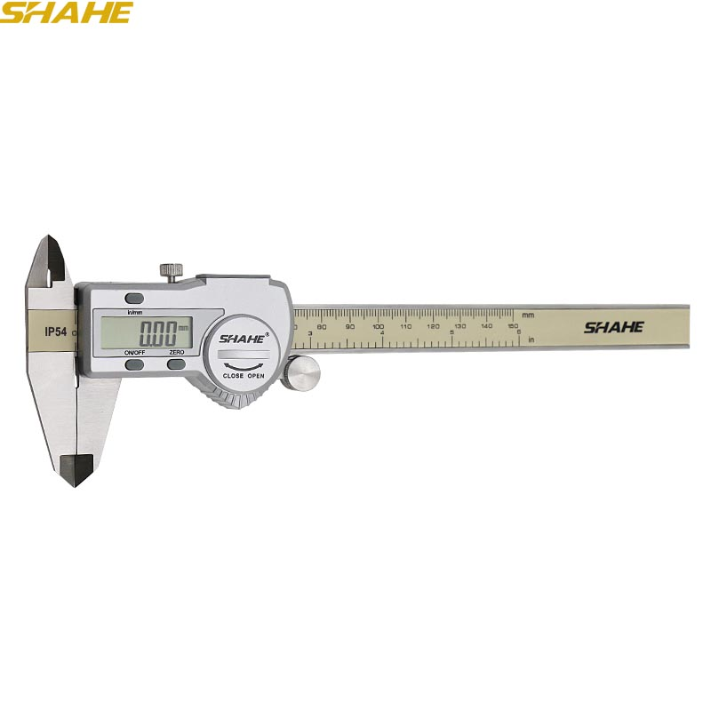 free shipping 150 mm stainless steel electronic digital vernier digital calliper 150 mm paquimetro digital