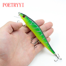 1Pcs 14 cm 20.8g 3D Eyes Minnow Fishing Lures crankbait Arduous Bait with three Fishing Hooks fishing wobblers pretend lure Fishing Deal with