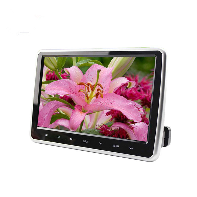 CHOGATH New Arrival 10.1 Inch HD TFT LCD Screen Car Headrest Monitor DVD/USB/SD HDMI Player 9 inch car headrest mount dvd player digital multimedia player hdmi 800 x 480 lcd screen audio video usb speaker remote control