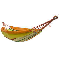 Euro Standard Single Canvas Hammock Garden Portable Travel Sleeping Hamak Hamaca Rede Patio Hamac Outdoor Furniture