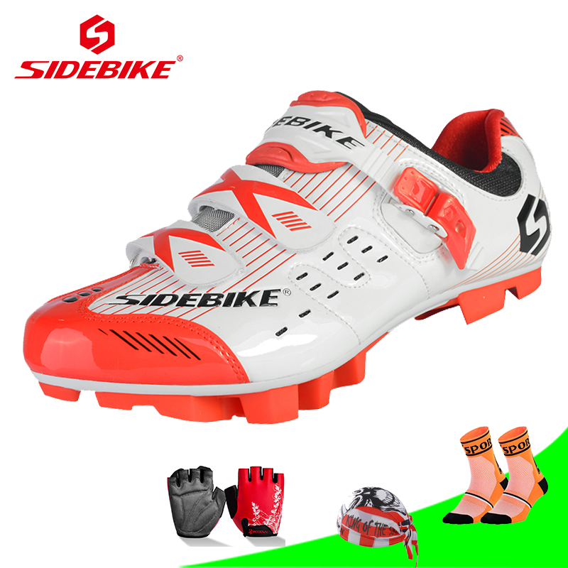 SIDEBIKE Cycling Shoes Mountain Bicycle bike Racing shoes Self-Locking zapatillas mtb ciclismo chaussure vtt sapato ciclismo sidebike cycling shoes carbon fiber racing road bike sneakers zapatillas ciclismo chaussure velo self locking fietsschoenen