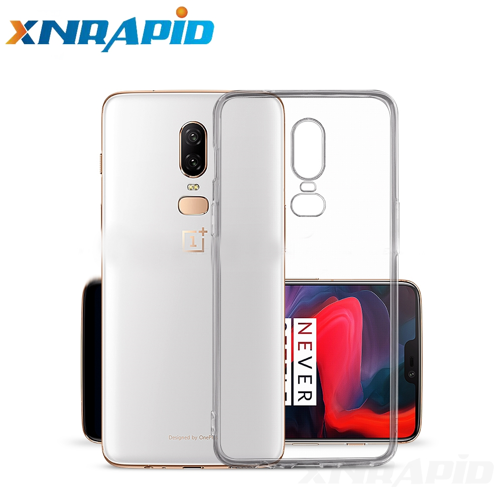 Crystal clear soft silicone transparent TPU shell suitable for font b oneplus b font font b