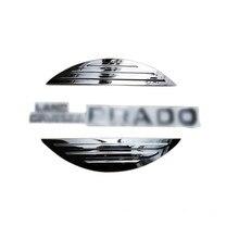 Для Toyota Land Cruiser Prado FJ150 2014-2018 ABS Chrome защищены шин Обложка украшения отделка 1 компл. автомобиля Средства для укладки волос!