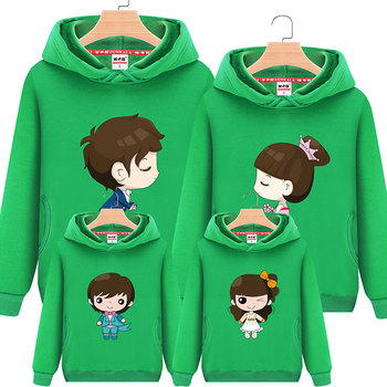 Family Matching Clothes Parent Kid Look Character T Shirts Autumn Father Mother Kids Cartoon Outfits New Cotton Free Drop