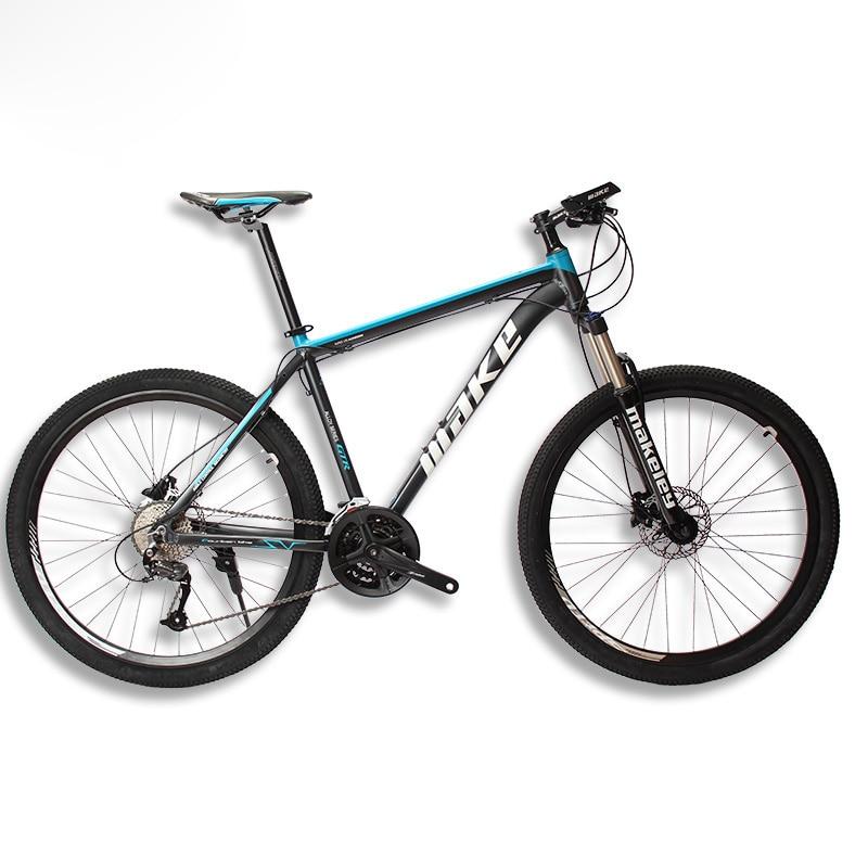 MAKE Telaio In Alluminio Mountain Bike SHIMAN0 AItus 27 Velocità 26