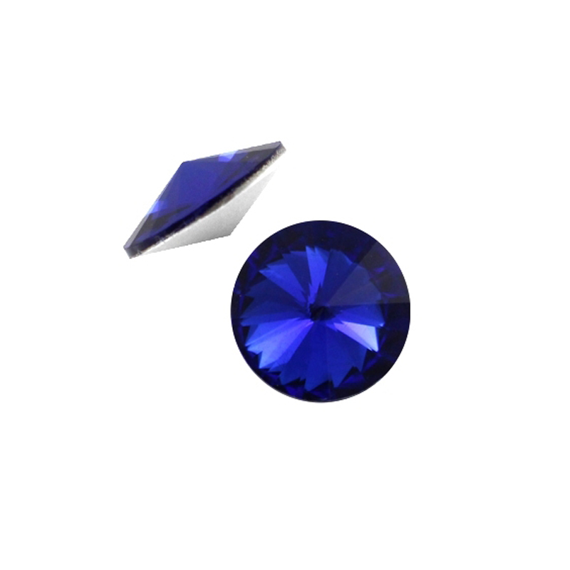 #1122 6 8 10 12 14 16 18 mm Crystal Capri Blue Rivoli Crystal Strass Point back Rhinestone Stone Chatons Crystal For Nail Art lole капри lsw0923 lively capri m evening blue