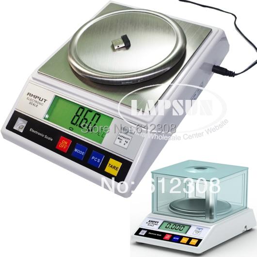 0 01g 1000g 1KG 2000g 2KG Digital Electric Jewelry Gram Gold Gem Coin Lab Balance Weight