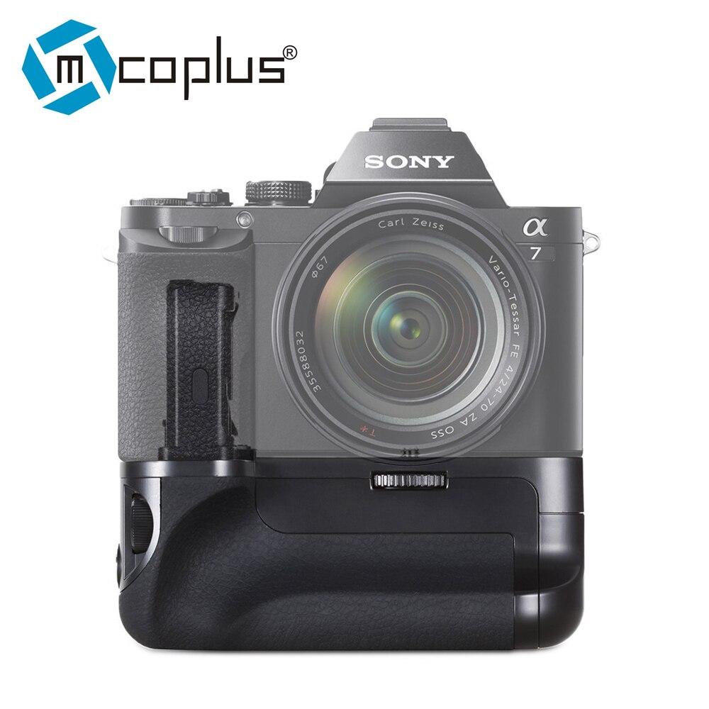 Mcoplus Venidice VD-A7 Batterie Vertical holder Grip pour Sony A7 A7r A7s caméra comme Meike MK-A7