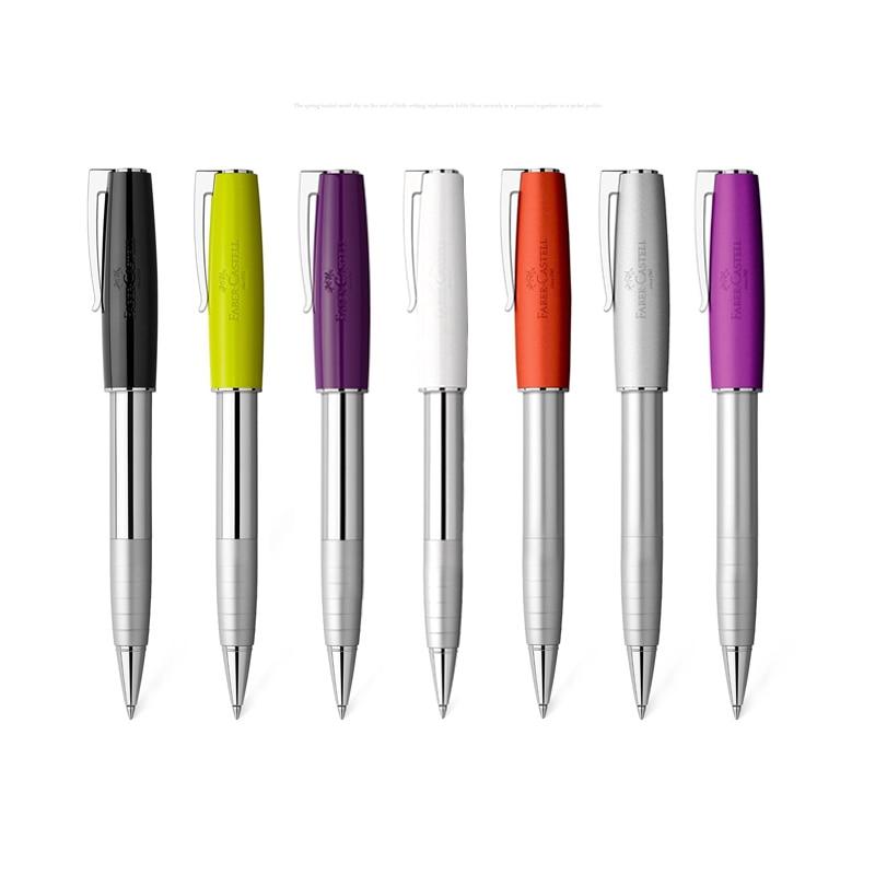 faber castell ruen serie de metal colorido caneta assinatura escritorio de negocios de joias rodada perola