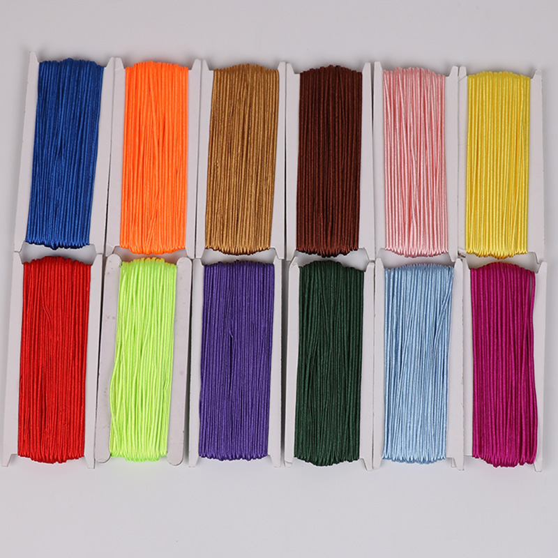 Aclovex 24Colors 34 Yards/lot(31Meter) 3mm Chinese Soutach Cord Snake Belly Nylon Rope Cord Soutache DIY Jewelry Making Findings