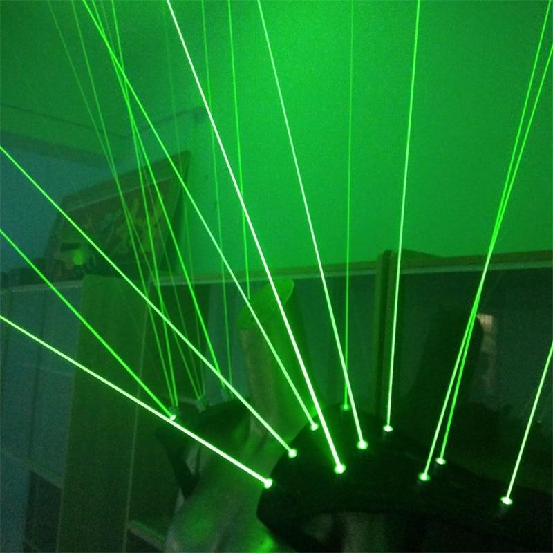 Yeni gəlmiş Yaşıl lazer robot kostyumu, yüngül - Şənlik aksesuarları - Fotoqrafiya 6