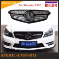Diamond Racing grill for Mercedes  Benz W204  c180 c200 c220 c250 c300 2007-2013   Car-styling
