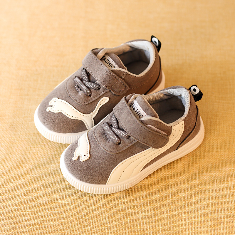 fashion Children s shoes 1 to 3 years old children s shoes non slip soft bottom