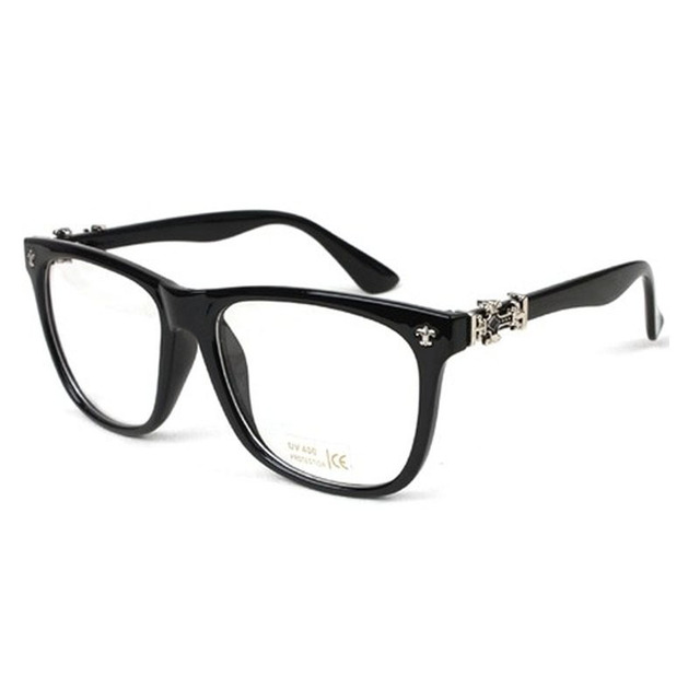 Eye Wear Eye Frame Black Brown Leopard Beige Eye Glasses Women Men ...