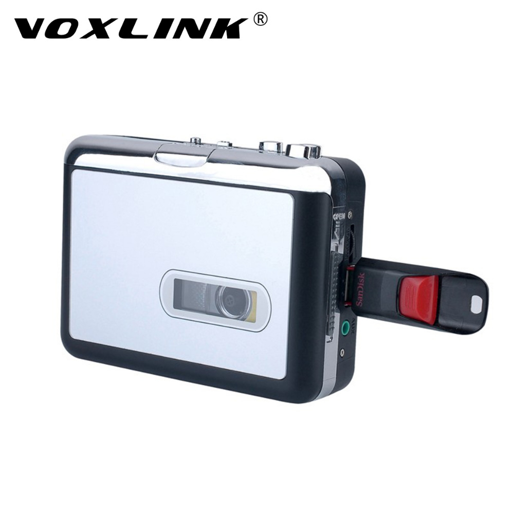 VOXLINK USB Cassette Player and Converter Convert Tape to MP3 into USB Flash Drive Suppo ...