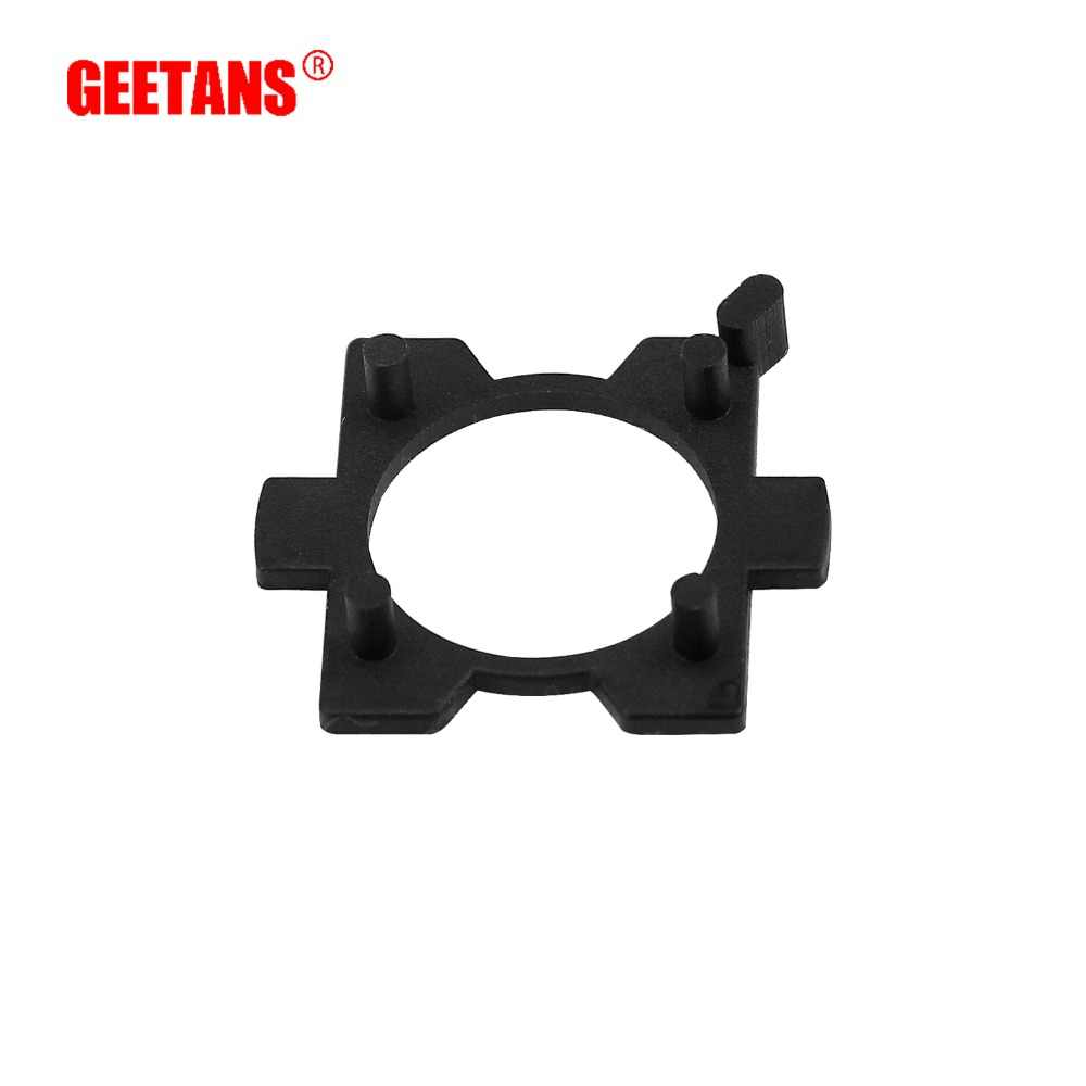 GEETANS  Car LED Clip Retainer Sockets Adaptor H7 LED Headlight Bulb Special Lamp Holder For CX5 CX7 H7 Bulb Adapter Base