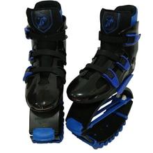 MiaoMiaoLong Jumps Fitness Toning Shoes BKBE4244 Black&Blue Sports Boots US Men 7.5,8.5,9.5 US Women 8.5,9.5,10.5