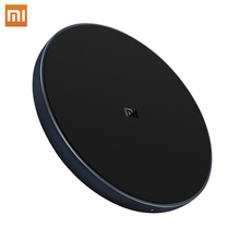 Xiaomi Original Wireless Charger Qi Smart Quick Charge Fast Charger 7.5W for Mi MIX 2S iPhone X XR XS 8 plus 10W For Sumsung S9 xiaomi wireless charger for xiaomi mix 2s samsung s9 iphone x qi wireless quick charging smart compatible for mobile phones