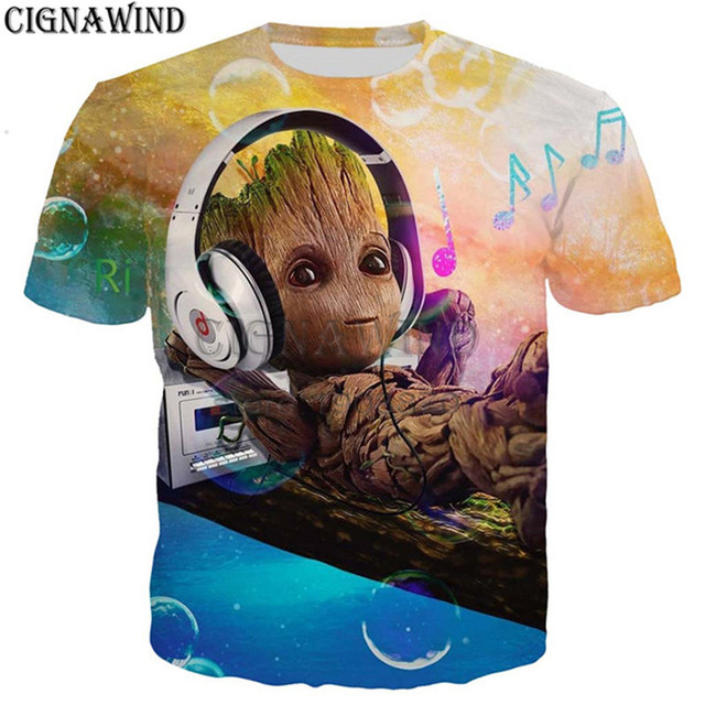 dc0ace5d0cfcc New arrival fashion movie Guardian of the Galaxy 3D color printed t shirt  men summer tops streetwear unisex t-shirt casual shirt