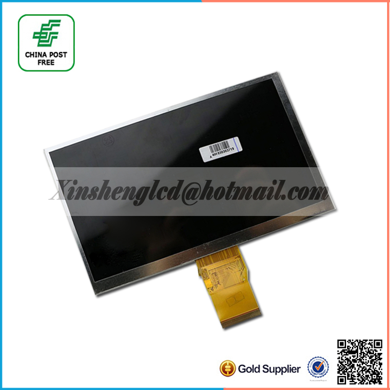 7 163*97MM LCD Sscreen for Supra M722 tablet lcd display replacement Free Shipping
